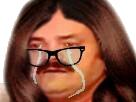 Sticker femme femen pleure triste femi