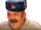 Sticker risitas russe communiste soviet
