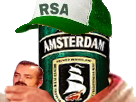 Sticker eco rsa biere