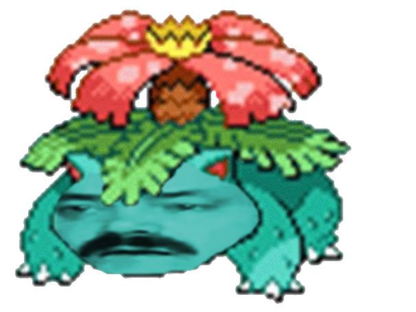 Sticker risitas florizarre 003 pokemon