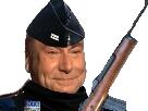 Sticker controle routine gilbert gendarme