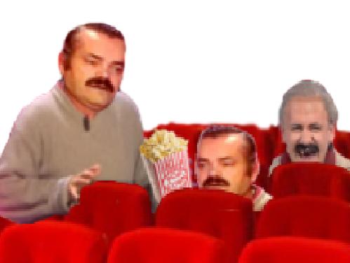 Sticker pardon risitas cinema cinema pop corn pop corn