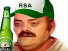 Sticker risitas rsa biere
