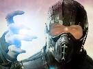 Sticker risitas bionique masque