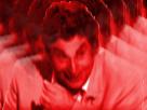 Sticker jesus issou mechant rouge demon possede satan 666 demon