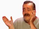 Sticker applaudir pleurer cimer chef putain main