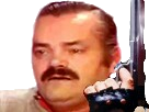 Sticker pistolet gun arme