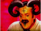 Sticker demon risitas diable satan