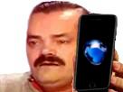 Sticker iphone issou risitas iphone 7 telephone portable smartphone