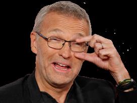 Sticker censurerisibank laurent ruquier capote lunettes petant