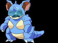 Sticker 031 nidoqueen risitas pokemon
