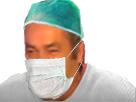 Sticker risitas chirurgien medecin