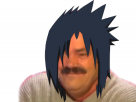 Sticker risitas content sasuke