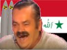 Sticker risitas nucleaire iraq