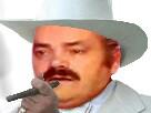 Sticker texas cowboy chapeau