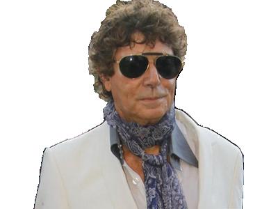 Sticker beau gosse bg mannequin lunette de soleil classe costume jesus blanc bronze cool au calme sympa ok daccord btg
