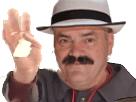 Sticker risitas papier mouchoir chapeau