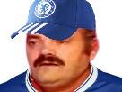 Sticker football chelsea blase risitas chancla