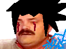 Sticker sasuke d4rk chidori saske naruto kikoojap