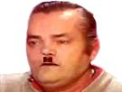 Sticker risitas hitler nazi moustache