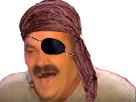 Sticker risitas rire pirate