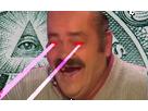 Sticker risitas laser illuminati