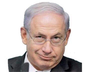 Sticker benyamin netanyahou benyaminnetanyahou sioniste israel realiseparjudea samarriah amisraelhai sourire