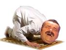 Sticker musulman terroriste priere tapis allah islam ei muz muzz