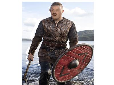 Sticker risitas vikings bjorn ragnar lothbrok