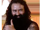 Sticker posse bleu like thumb up content apprecie indien inde guru gurmeet