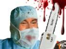 Sticker jesus tronconneuse medecin
