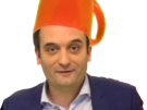 Sticker florian philippot tasse tete youtube video fn front national politic politique