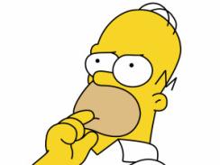 Sticker De Voyageurnomade Sur Homer Simpson Reflechit Euh Sticker Id 5455
