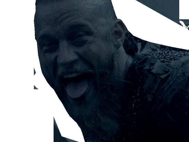 Sticker risitas vikings ragnar lothbrok