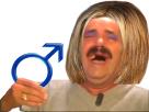 Sticker risitas femen feministe femie rire mdr olol male homme cis hetero privilege
