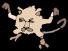 Sticker risitas pokemon ferosinge pokedex risidex eco plus dessin