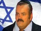 Sticker risitas israel