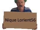 Sticker risitas carton nique lorient56