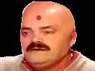 Sticker indou pak pak indien bouddhiste chauve cancer