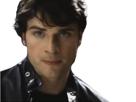 Sticker fic celestin serie bg mec homme male brun tom welling superman clark kent jack