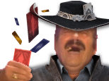 Sticker league of legends lol twisted fate tf cartes yu gi ho chance joueur pari tricheur poker jackpot