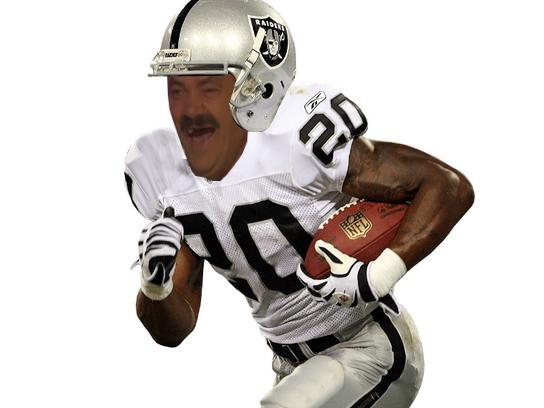 Sticker raiders raider americain football us risitas sport usa foot issou ballon