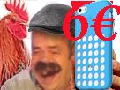 Sticker risitas annee coque coq fnac iphone arnaque prolo 6euros