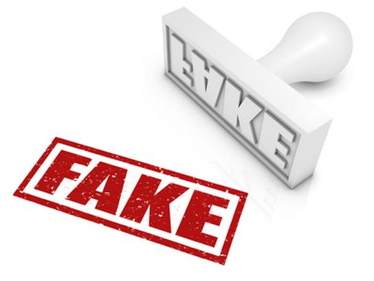 Sticker fake faux intox hoax mytho mensonge