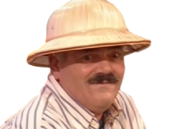 Sticker chapeau