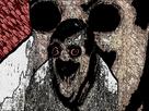 Sticker deforme difforme peur screameur eco
