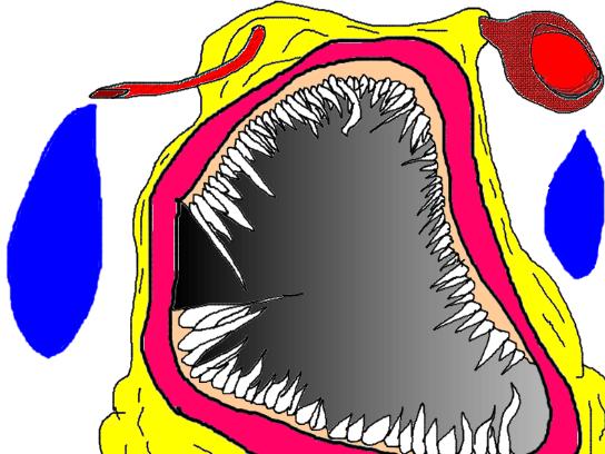 Sticker jpp monstre