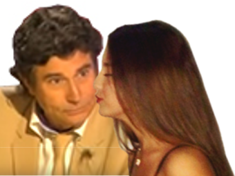 Sticker jesus femme bisou joue kiss smack amour copine saint valentin st flirt drague seduction