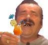Sticker risitas cocktail jus de fruit