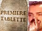 Sticker doigt nez premiere tablette first